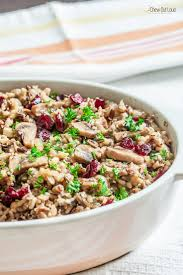 wild rice thanksgiving side dish festive wild rice stuffing gf chew out loud