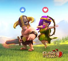 clash of clans hog rider clash of clans home facebook