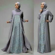 Baju Muslim Wanita model baju setelan gamis muslim wanita terbaru dan modern