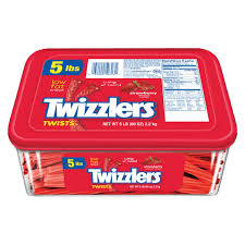 amazon com twizzlers twists strawberry flavored licorice candy
