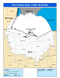 Map Of Sandusky Ohio by Noaa Weather Radio Khb97