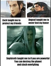 Sephiroth Meme - ta ta tatata ta ta ta tarara sephiroth meme by albagopegui