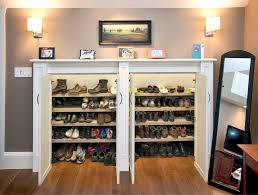 Shoe Storage Bench Entryway Shoe Storage Bench Closet Traditional With Boots Bow