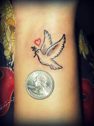 50 and lovely dove tattoos for and