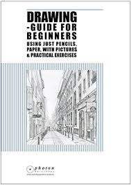 drawing guide for beginners using just pencils and paper with