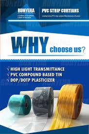 standard pvc strip curtains jinan runyijia industry trade co ltd