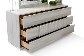 Italian White Lacquer Bedroom Furniture Modrest Ethan Italian Modern Grey Bedroom Set