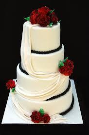 wedding cake roses drapes and roses wedding cake s cakes