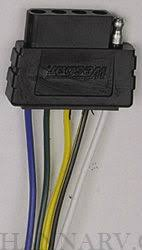 wesbar 002309 heavy duty 5 way flat 6 foot vehicle end connector