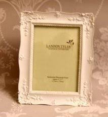 shabby chic laura ashley style white picture frame 8x10 amazon