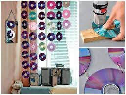How To Make Basic Curtains How To Make Beautiful Curtains With Used Cds Step By Step Diy