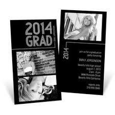 graduation announcements striped success folded pear tree