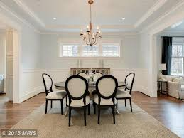 dining room molding traditional dining room with chandelier u0026 crown molding in chevy