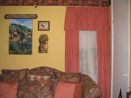 primitive colonial home decor living room plaid kitchen curtains colonial curtains