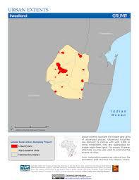 Swaziland Map Map Gallery Sedac