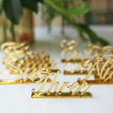 Laser Cut Table Numbers Acrylic Table Numbers Acrylic Table Numbers Suppliers And