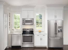 stainless steel kitchen appliances package pattern backsplash