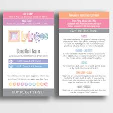 Design Your Own Business Card For Free Lularoe 3