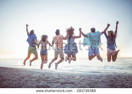 friends happy stock images royalty free images vectors