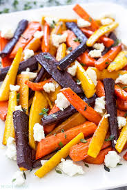honey roasted carrots with goat cheese and thyme recipe runner