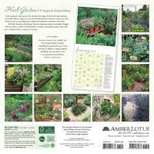 9781631362767 herb gardens 2018 wall calendar amber lotus