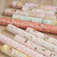 wrapping paper in bulk aliexpress buy 76cm x 54cm 80gsm european vintage flower
