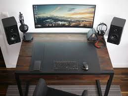 Awesome Office Desks Best Desk For Dual Monitor Setup Awesome Office Design Inspiration