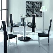 black round dining table set black round dining set round dining table black black 5 piece pub