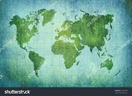Vintage World Map by Vintage World Map Background Stock Illustration 72405055