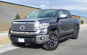 toyota limited 2014 toyota tundra limited u2013 big capable still lacking