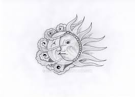 sun moon by cryptoz on deviantart