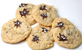 spider chocolate chip cookies u2026 fail i sing in the kitchen