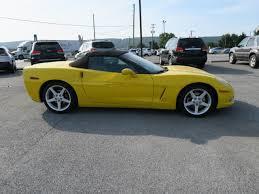 2006 corvette convertible used 2006 chevrolet corvette convertible for sale 06636k