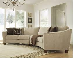 Rounded Corner Sofas Small Curved Sectional Sofa U0026 Curved Sectional Sofas For Small