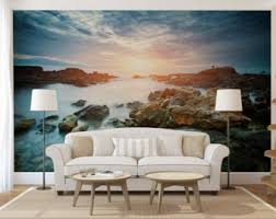 3d Wallpaper Interior 3d Wallpaper Etsy