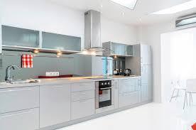 cuisine gris laqué enchanteur cuisine gris laqué et cuisine laquae grise sur mesure