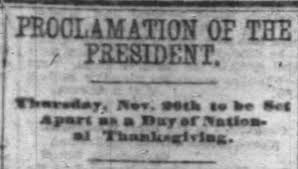 lincoln and thanksgiving a history reminder for todayspeaking for