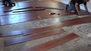 installing no gap floating vinyl plank flooring over concrete for