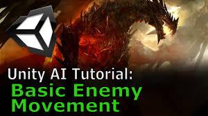 unity tutorial enemy ai basic enemy movement unity ai tutorial youtube