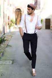 what hair styles suit braces how to wear braces 20 best men outfits ideas with suspenders