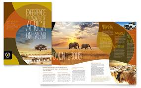 travel and tourism brochure templates free 30 beautiful travel brochure designs