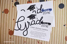 grad party invitations printable graduation party invitations