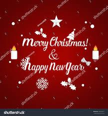 merry christmas happy new year 2017 stock vector 540995941