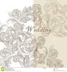 beautiful wedding invitation card for design stock image image