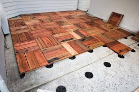 decking tiles wood deck tiles northern rivers recycled timber