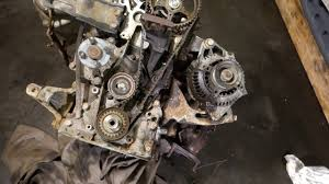 Toyota 2e Engine Diagram How To Replace Water Pump Toyota Corolla Years 1990 To 2002 Youtube