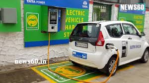 Mumbai Gets Its First Electric Vehicle Charging Station Youtube