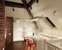 kitchen room track lighting for vaulted ceilings sloped ceiling