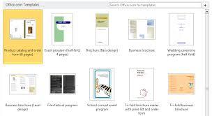 blank brochure template word selimtd
