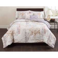 casa live laugh love 5 piece bedding comforter set walmart com